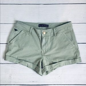 Abercrombie&fitch olive green Shorts Size 24